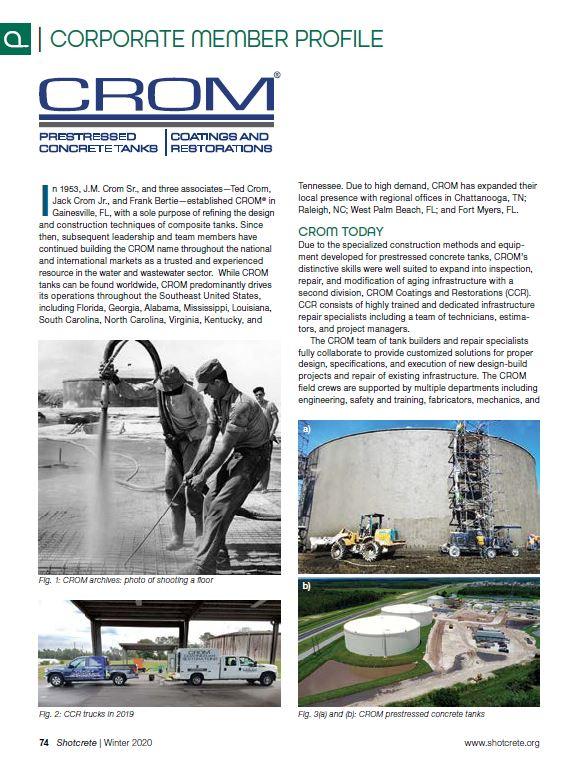 ASA pg 76 CROM corporate member profile