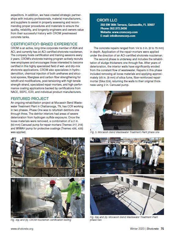 ASA pg 77 CROM corporate member profile