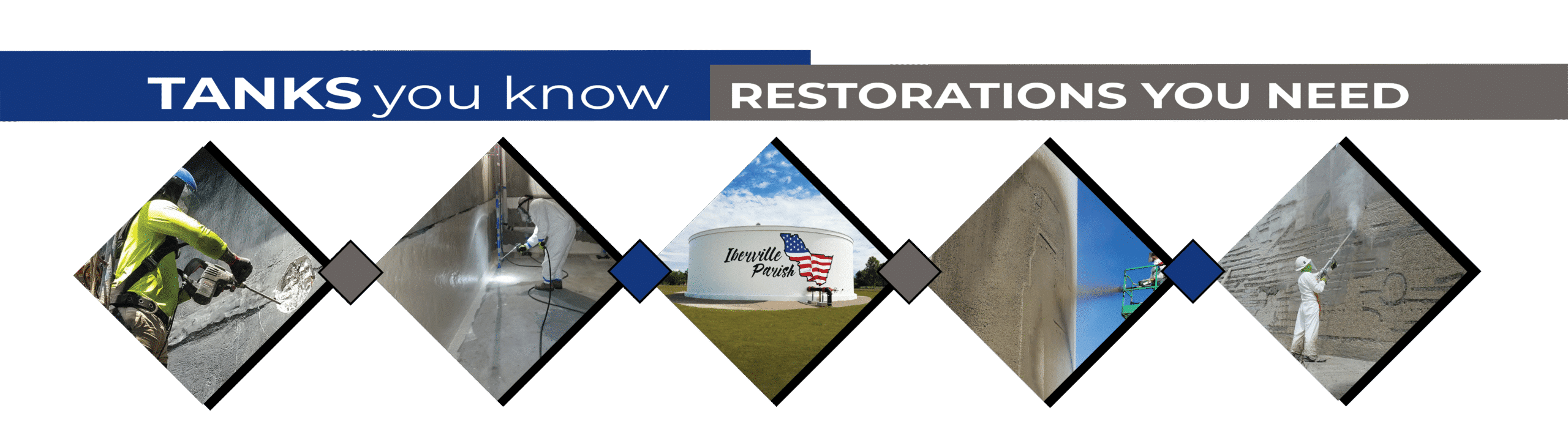 Tanks you know - restorations you need